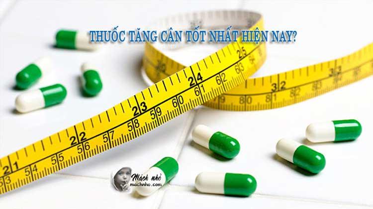 Thuốc tăng cân hiệu quả